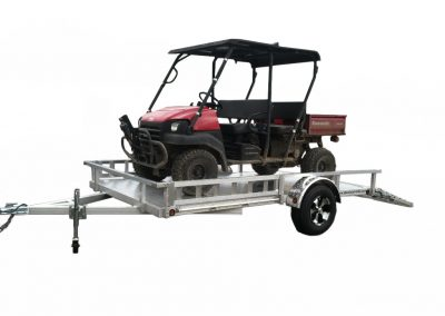Aluminum Trailer Manufacturer 7x12 ATV With Mule