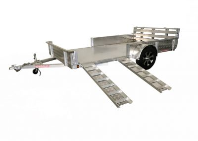 Aluminum Trailer Manufacturer 7x12 Atv Ss Set Up Recovered