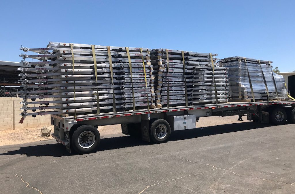 Aluminum Trailer Mesa | Haul Small or Big Items In This!