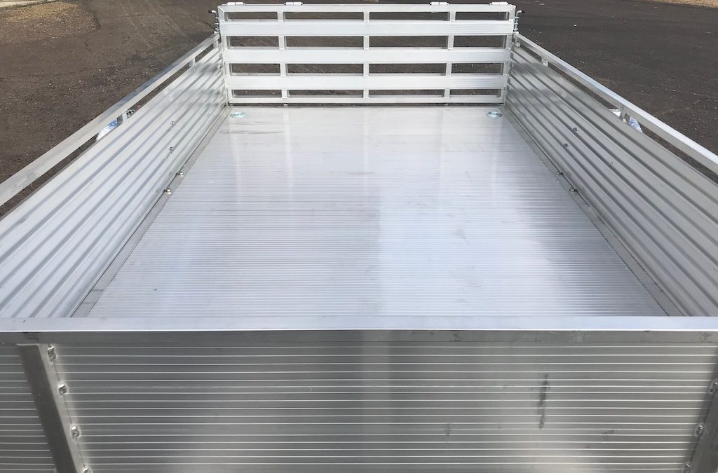 Aluminum Trailer Manufacturer | Are People Buying Your Trailers Like Crazy?
