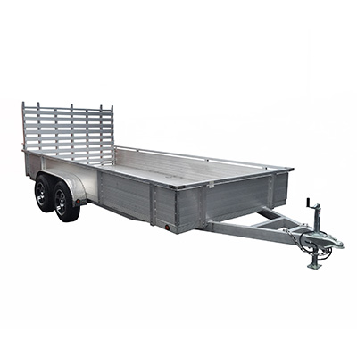 Aluminum Trailer Manufacturer Heavy Duty Hut82x16 Ta 16hss